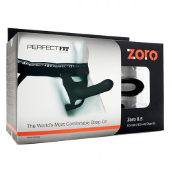 Zoro Penis Silicone with Black Harness