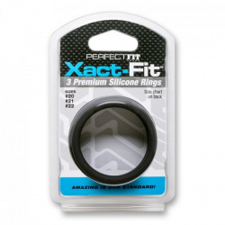 Xact Fit Kit 3 Anillos de Silicona M