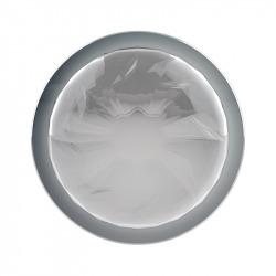 Plug Anal de Metal Talla S Transparente