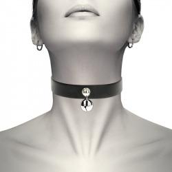 Collar Cuero Vegano Cascabel