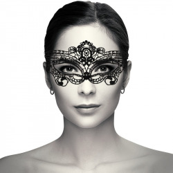 Antiface Venetian Black Lace