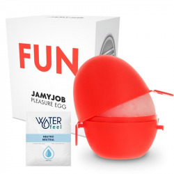Egg Masturbator Red Fun