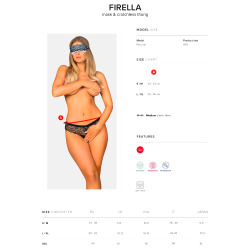 Firella Set Anti-Fog and Panties with Opening