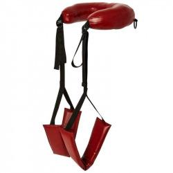 Cravates de cuisse rouge