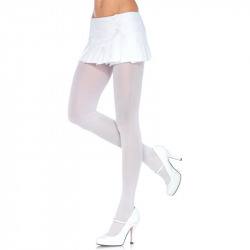 White Opaque Panties