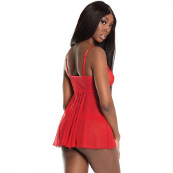 Rascality with Red Festoneed Thong