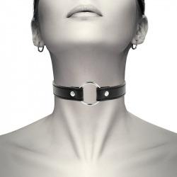 Collar Cuero Vegano Argolla