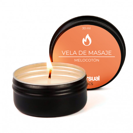 Vela de Masaje Melocotón 30 ml