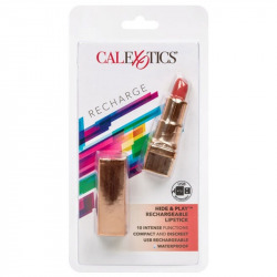 Hide & Play Red Rechargeable Lipstick