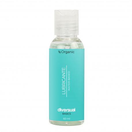 Lubricante Orgánico Base Agua 60 ml