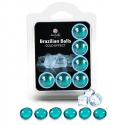 Set 6 Brazilian Balls Efecto Frío