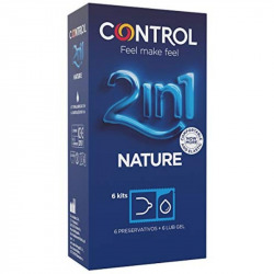 Nature with Lubricant 6 Pcs