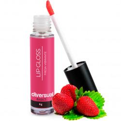 Lip Gloss Vibrating Strawberry