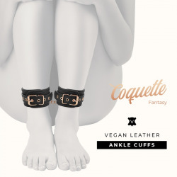 Fantasy Ankle Handcuffs Vegan Leather