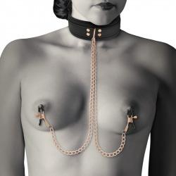 Fantasy Necklace with Nipple Tweezers