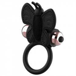 Coquette Butterfly Ring
