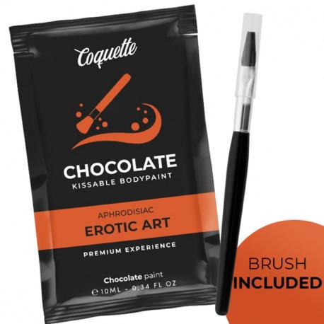 Chocolate Kissable Bodypaint 10 ml