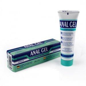 Anal lubricant gel