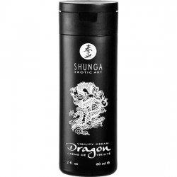 Shunga Dragon cream enhances the erection