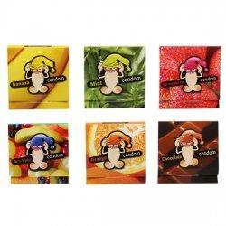 Pack de 6 Condones de Sabores