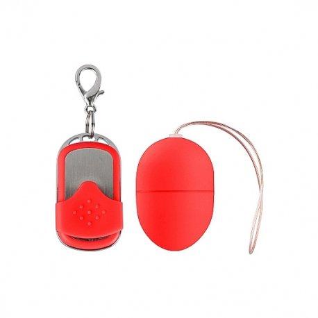 Huevo Vibrador 10 Velocidades Control Remoto Red Pequeño