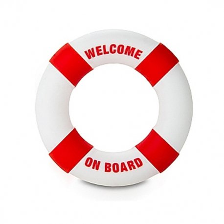 Anneau pour pénis bouée Bienvenue à bord