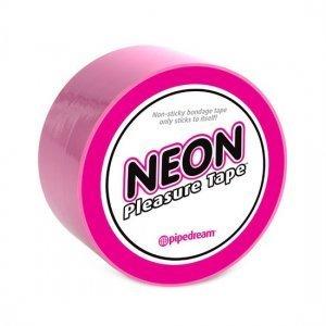Neon Cinta Bondage Rosa