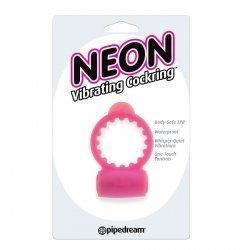 Neon Anillo vibrador Rosa