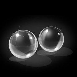 Boules de chinois moyen verre icicles Ben-wq