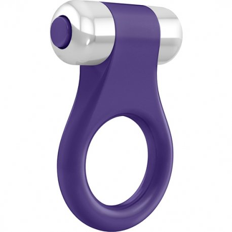 Ovo B1 Lila vibrating ring