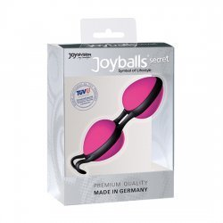 Joyballs Secret Bolas Chinas Negras y Rosas