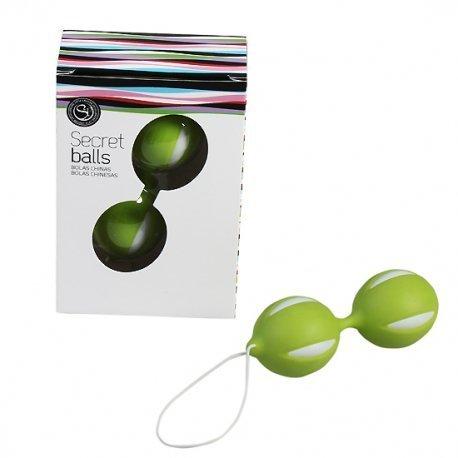 Boule de boules secret chinois vert