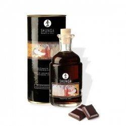 L'huile aphrodisiaque Shunga intime de baisers au chocolat