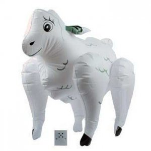 Horny inflatable sheep with sound - diversual.com