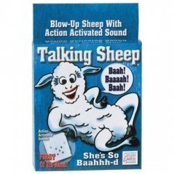 Horny inflatable sheep with sound
