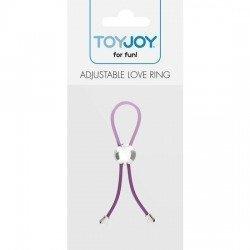 Ring adjustable penis Lavender
