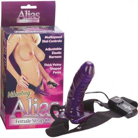 Alias Vibrating Female Strap-On
