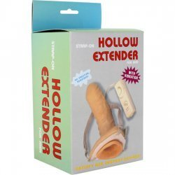 Hollow adjustable harness with vibrator