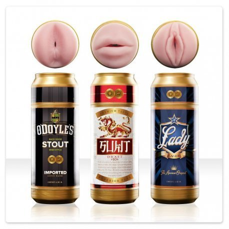 Fleshlight sex in can hole mouth