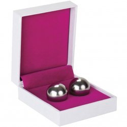Chinese balls-Ben Wa Balls weight medium silver