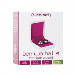 Boules chinoise-Ben Wa Balls poids moyen argent
