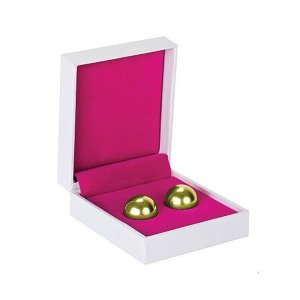 Chinese balls-Ben Wa Balls gold