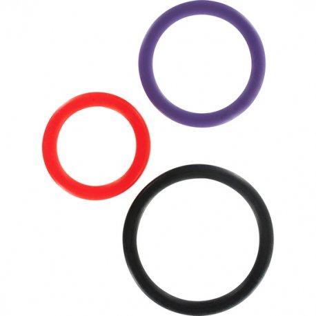 Triple anneau multicouleur