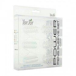 Kit covers the penis transparent 6 Pcs