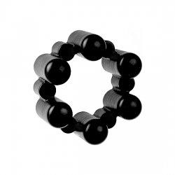 SixShot Terminator vibrating ring with 6 bullets black
