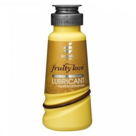 Lubrifiant Fruity Love vanille et cannelle 100 ML