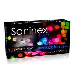 Saninex condoms feel Natural 12 PCs