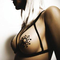 Couvrir seins Mimi noire Bijoux Indiscrets