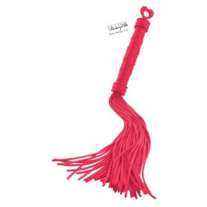 Fetish Fantasy whip scourge red silicone