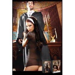 Baci Lingerie de costume de nonne pécheresse